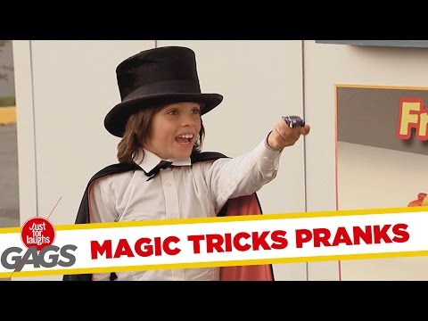 Best Magic Tricks Pranks - Best of Just for Laughs Gags
