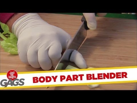 Body Part Blender Prank - Just For Laughs Gags