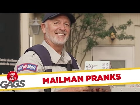 Day In The Life Of A MAILMAN - Best Of Just For Laughs Gags