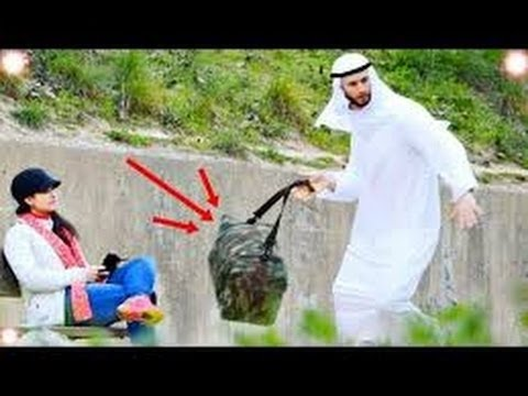 Funny Arab Public Bomb Scare Prank Videos Compilation Funny Scare Prank 2016