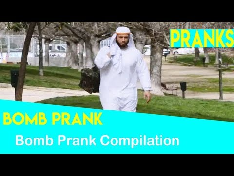 Funny Public Bomb Scare Prank videos Compilation