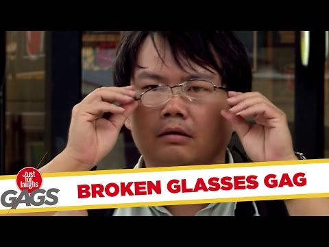 Hammer VS. Glasses Prank! - JFL Gags Asia Edition
