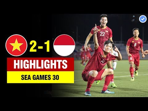 Highlights Việt Nam 2-1 Indonesia