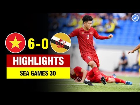 Highlights Việt Nam 6-0 Brunei