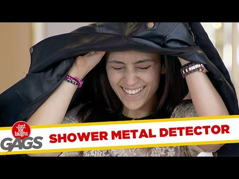 Metal Detector Turns into Shower