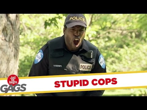 Stupid Cops Pranks - Best of Just For Laughs Gags