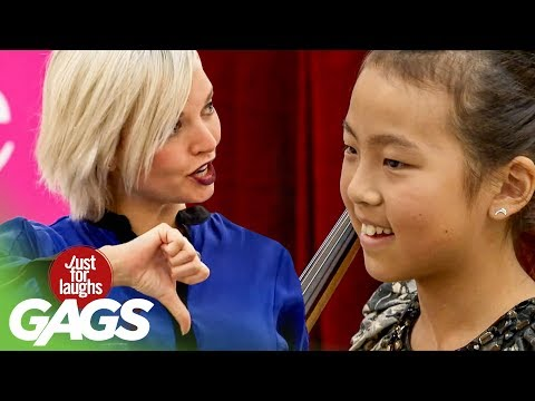Talent Show Judges Break Little Girl's Spirit