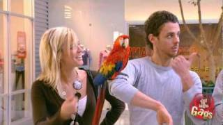 Parrot Whistles At Girls Prank