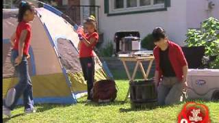 Front Lawn Camping Trip