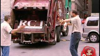 Keys into garbage truck prank