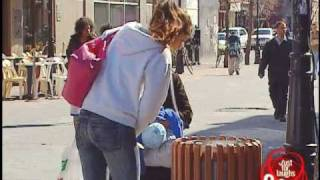 Rat Infested Garbage Can Prank