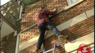 Construction Spiderman Prank!