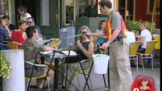 Garbage collector prank