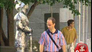 Spitting Medieval Armor Hidden Camera Jokes
