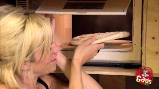 Magic Microwave Shrinks Pizza