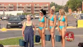 JFL Hidden Camera Pranks & Gags: Bikini Car Wash Special