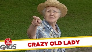 Crazy Old Lady Pranks - Best of Just For Laughs Gags