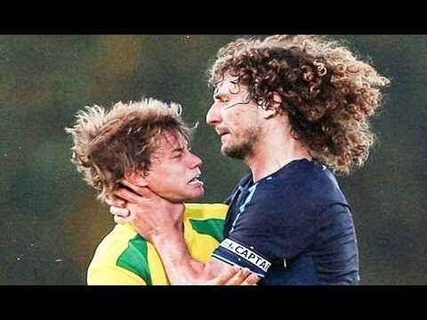 Đánh bóng đa - Best Football Fights 2015 ft. Diego Costa, Pepe, Ronaldo, Neymar, Messi, Balotelli HD