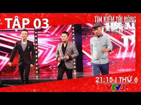 Vietnams Got Talent 2016 - Tập 03