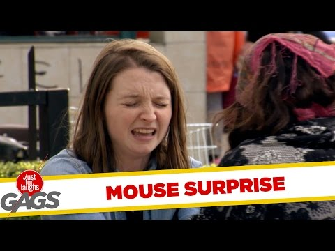 Mouse Coming Out of a Psychic - Just For Laughs Gags
